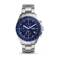 **NEW** MENS FOSSIL SPORT 54 BLUE CHRONO WATCH - CH3030 - RRP £149
