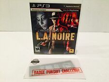 L.A. Noire - Sony Playstation 3 PS3 Game Exclusive Content