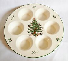 Spode Christmas Tree Muffin or Cupcake Tray NEW UNUSED
