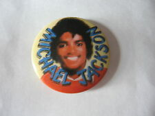 BADGE  MICHAËL JACKSON VINTAGE 80'S