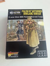 Warlord Games Perno acción polaca 10TH motorizados Brigada escuadrón 28MM Miniatures