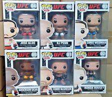 In-Hand New Funko POP! UFC Set Of 6 Vinyl Figures