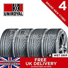 "4x NEW 235 45 17 UNIROYAL RAINSPORT 3 94Y (4 TYRES) 235/45R17 ""A"" WET GRIP TYRE"