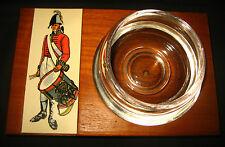 War of 1812 Soldier American Drummer Militia Liquor Glass Jigger MCM Snifter WOW