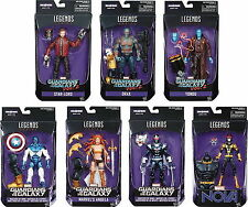 Set of 8 Marvel Legends Guardians Of The Galaxy  Vol. 2 Titus BAF IN HAND