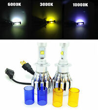 H7 Cree LED Headlight Bulbs Kit Headlamp Spare Part 4000Lm 12-24V Canbus 6000K