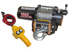 ELECTRIC TRAILER RECOVERY WINCH – ATV/BOAT/TRUCK/CAR – 2000 lb 12V- FIVE OCEANS