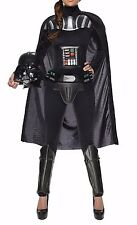 STAR WARS Adult Deluxe DARTH VADER JUMPSUIT women's Small NWT Cos Play Costume