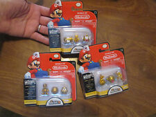 LOT WORLD OF NINTENDO NEW SUPER MARIO BROS 2 MICRO LAND GOLD SERIES SET COMPLETE