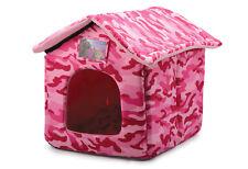 Ancol solo 4 Animali Domestici Casa Letto-Rosa Camuffamento-Cane & Gatto