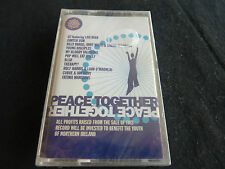 PEACE TOGETHER ULTRA RARE SEALED CASSETTE TAPE! U2 PWEI LOU REED BLUR