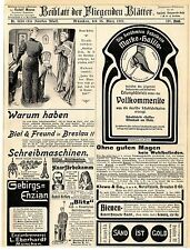 Dr. Gaspary & Co. Leipzig Cementindustrie Hassia Schuhe Offenbach Annoncen 1907