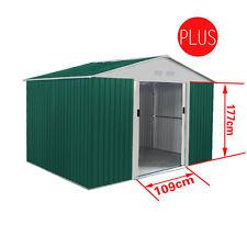 Box Casetta giardino con doppio spessore lamiera 251x171xh218cm esterno L-PLUS