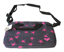 GENUINE WOMENS ROXY OVER SHOULDER GREY/PINKBAG LAPTOP CASE (XKWES12S)