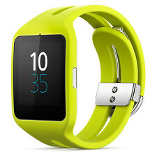 Genuine Sony Smart Watch 3 Fitness & Activity Tracker Android Lime Green SWR50