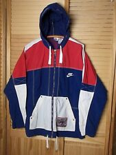 Nike Air vintage windbreaker full zipper jacket men XL