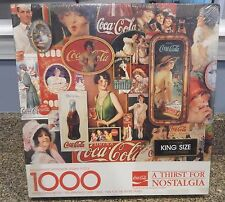 New Sealed Springbok Coca-Cola Thirst for Nostalgia Jigsaw Puzzle King Size
