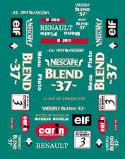 #3 NESCAFE BTCC Renault 1999 1/43rd Scale Slot Car Decals