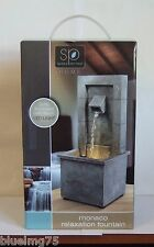 Sarah Peyton Monaco Relaxation Fountain Softly Illuminates w/ Warm LED Light 416