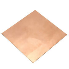 1pc 99.9% Pure Copper Cu Sheet Thin Metal Foil Sheet 100x100x0.5mm