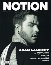 NOTION #69 2015 ADAM LAMBERT Lindsay Lohan PIXIE LOTT Ella Hope CARLY RAE @New@