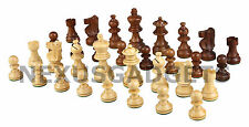 Chess Pieces 3.5 IN KING Sheesham Boxwood Weighted Wood Made in India NO BOARD