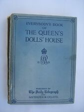 The Book of the queen's Doll House original livre maison de poupée La reine v 1924