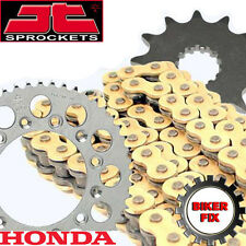 Honda XR400 RT-RY,R-1-R-4 96-04 GOLD HDS Race Chain and Sprocket Set Kit