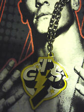 PENDENTIF CATCH WWE CM PUNK GTS GO TO SLEEP COLLIER/PENDANT
