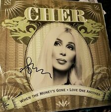 Cher Signed When The Moneys Gone LP Record RARE