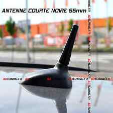 ANTENNE COURTE 55mm NOIRE TUNING CITROEN RENAULT VW MINI COOPER OPEL FORD KIA