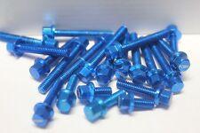 Honda Grom MSX 125 2013 2014 2015 Engine dress up BLUE bolts new USA