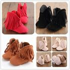 Classy Baby Infant Toddler Shoes boy Girls Tassel Winter Shoes Boots 0-18 Months