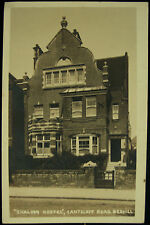 c1913 Shalom Hostel Cantelupe Road Herbert Vieler RP Postcard Bexhill On Sea