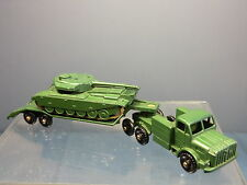MATCHBOX MOKO LESNEY MODEL No.M3 MIGHTY ANTAR TANK TRANSPORTER & CENTURION TANK