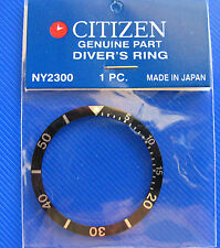 BLACK BEZEL  made for CITIZEN DIVER 8200 Automatic New