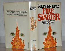 *SIGNED* NEAR FINE 1ST EDITION, EARLY PRINTING ~ FIRE-STARTER ~ STEPHEN KING