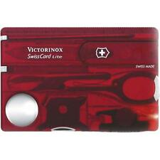 Victorinox Swisscard Lite Multi Tool with LED Torch and Magnifying Glass