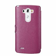 NEW Melkco Premium Leather Phone Case for LG Optimus G3 Purple LC