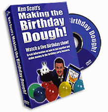 MAKING THE BIRTHDAY DOUGH DVD - KEN SCOTT'S MAGIC FOR KID'S PARTIES