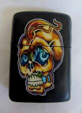 NEW FIMO Clay Covered  Skull Windproof  Lighter