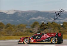 Kraihamer, Imperatori Hand Signed Rebellion Racing 12x8 Photo Le Mans 2016 6.