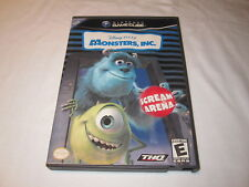 Monster's, Inc. Scream Arena (Nintendo GameCube) Disney Pixar Complete Excellent
