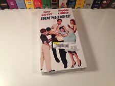 Houseboat New Sealed Classic Romantic Comedy VHS 1958 Cary Grant Sophia Loren