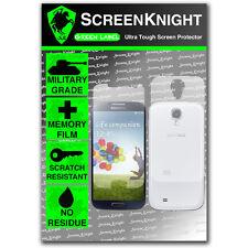 Screenknight Samsung Galaxy S4 corps plein protecteur d'écran invisible shield