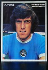 FOOTBALL PLAYER PICTURE TOMMY BOOTH MANCHESTER CITY SHOOT