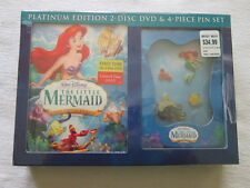 Disney's The Little Mermaid Gift Set 2-Disc Platinum Special Edition DVD New
