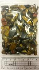 200g Bag Polished Tumble Stones TIGERS EYE*Rocks*Fossils*Minerals*Crystals