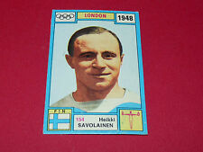N°154 H. SAVOLAINEN PANINI OLYMPIA 1896 - 1972 JEUX OLYMPIQUES OLYMPIC GAMES