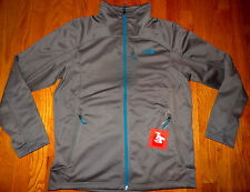 NWT The North Face Men's Stretch Smooth TKA Cinder Fleece Jacket S SMALL GREY